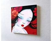 Mini acrylic painting: Slinky