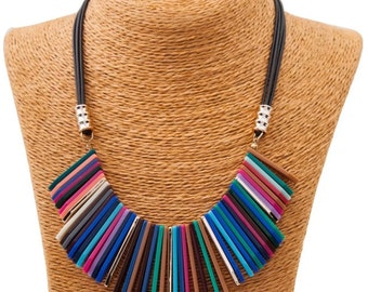 Necklace Bib Technicolor SUPERDEAL