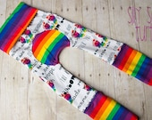 Maxaloones, Rainbow Baby diaper pants, grow with me pants
