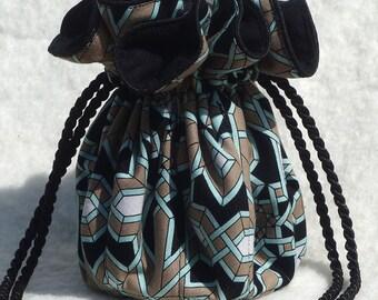 Anti Tarnish Southwestern print Jewelry Bag Pouch