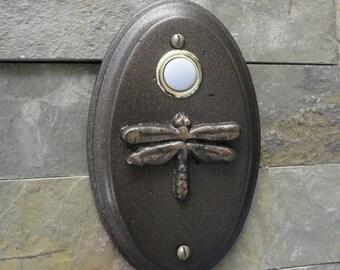 Dragonfly Doorbell Craftsman Oil Rubbed Bronze