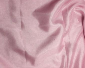 PRETTY PINK China Silk HABOTAI Fabric - 1 Yard