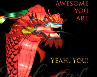 YOU'RE AWESOME! print