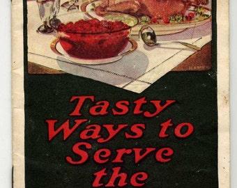 Recipe Booklet - Eatmor Cranberries - Great Graphics