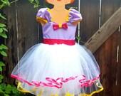 Daisy Duck  dress, purple Daisy Duck costume , Daisy Duck Party Dress, purple dress, pink and purple dress, 1st Birthday party