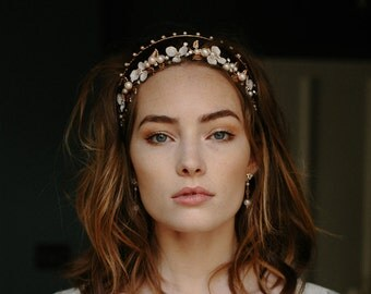 Wedding crown, hair accessory, bridal tiara -Bellatrix no. 2123