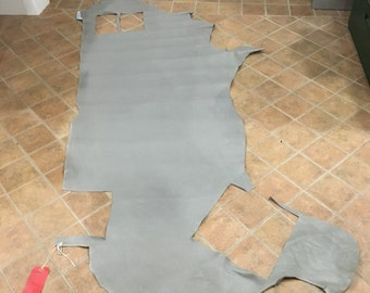 Grey Chap Weight Cowhide Side