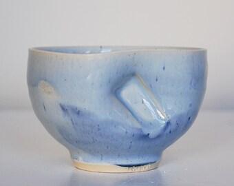 cool blue chawan