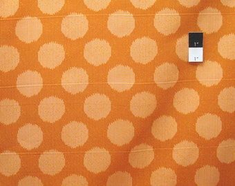 Tula Pink PWTP061 Moonshine Static Dot Tangerine Cotton Fabric By The Yard