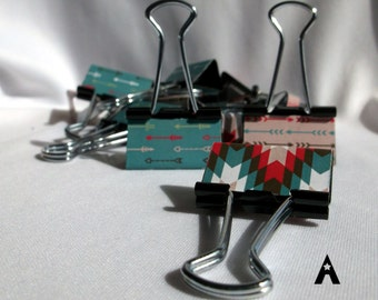 "Binder Clips - ""New Mexico"""