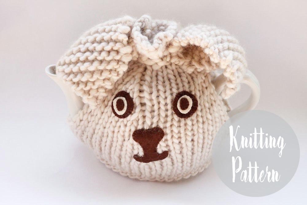 Tea Cosy Patterns Easy Knit : Bunny rabbit tea cosy knitting patterns tea cosy by handylittleme
