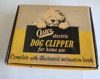 Oster Electric Dog Clipper Kit  for home use