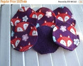 SALE 10% OFF Set of 6 Face Scrubbies, Make Up pads,Lotion Applicators, Infant Washies