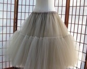 Tulle Skirt Your Color Choice -- Custom Order