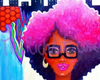 13x19 Afro Chic