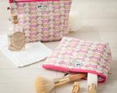 Sausage Dog Dachshund Dachshound Gift Cosmetic Makeup Toiletry Wash Bag
