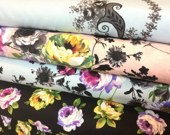 4 FQ Bundle  - Rosa + Rosalinda Collections by Michael Miller, Brand New Just Released Fabric