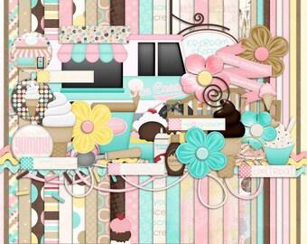 Sweet Treat Digital Scrapbook Kit