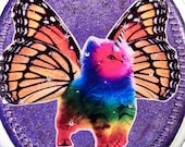 Rainbow Unicorn Butterfly Kitten Seat