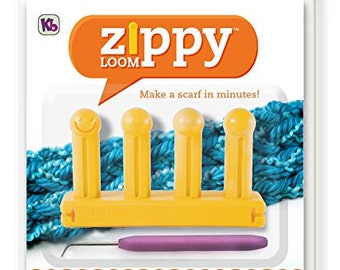 "Authentic Knitting Board Zippy Loom 3"" by 5.25"""