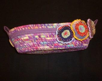 Woven Bowl Textile Art (608)