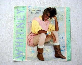Whitney Houston 45 record