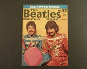 Original June  1967 The Beatles  Monthly Book # 47 SGT Pepper Special