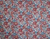 RESERVED Liberty fabric Tana Lawn cotton Betsy Fat Quarter fq Liberty Tissu