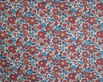 Liberty fabric Tana Lawn cotton Betsy Fat Quarter fq Liberty Tissu
