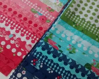 10 Inch Precut Bundle of Vanessa Goertzen's GOOSEBERRY Fabrics for Moda ~ 42 Squares Total