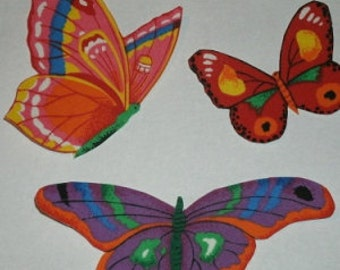 Butterfly  Iron On  Appliques