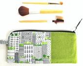 Pencil Case, Cute Pencil Pouch, Pencil Bag, Back to School Supplies, Accessory Bag, Cosmetics Case, Cute Pencil Bag - City Scape