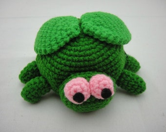 FREE SHIPPING Crochet Coin Small Purse - Fly