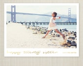 New Years Card, Modern New Years Card, Photo New Years Card, Holiday card, Printable New Years Card -  fun 2016.