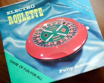 Electro Roulette - Electronic Roulette game - 1970s - complete - very good condition