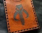 Boba fett leather Mythosaur card case