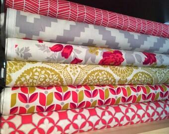 Joel Dewberry Fabric Bundle - 6 Count Fabric Bundle - Joel Dewberry Fabric - Free Spirit Fabric - Fat Quarter - Half Yard