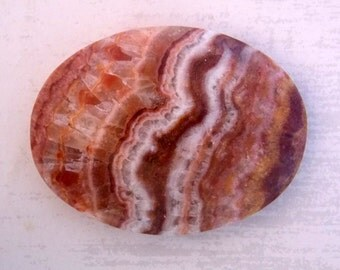 Travertine Onyx Calibrated Oval Cabochon