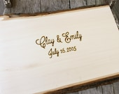 Wedding Guest Book Alternative - Wedding Wood Slice - Rustic Wedding Guest Book - Wedding Guestbook - Rustic Guestbook Alternative