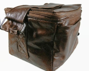 """Coupon Pocketbook Mega 6"""" single wide Organizer Ultra Suede Faux Leather"""