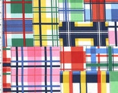 QUILTING COTTON: Madras Up and Away by Emily Herrick for Michael Milller - 1 Yard