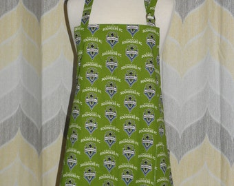 Seattle Sounders FC Grilling Apron - FREE or PRIORITY Shipping