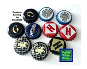 CUSTOM Listing for SHARON - 10 Beer Brew Caps w/out Magnets