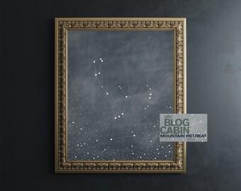 Orion Constellation Fine Art Print // astronomy print // constellation // home goods // home decor // wall art // wall decor // 8x10 print