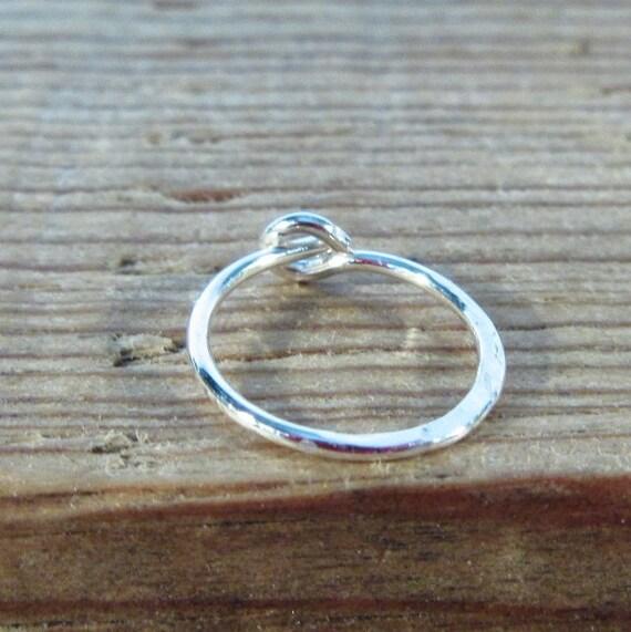 Hoop Earring Silver Hammered SINGLE - Hoop Earring Tragus Hoop, Daith Hoop, Rook Hoop, Hammered Hoop, Snug Hoop, Helix Hoop, Cartilage Hoop