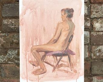 Figure study 5 - original painting