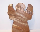 Angel Cutting Board Handcrafted from Mixed Hardwoods