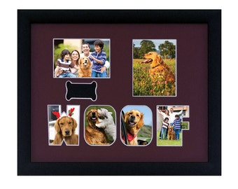 Pet Custom Photo Collage/WOOF MAT 14X11 only