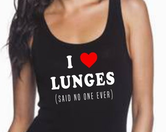 I love lunges (Said no one ever)