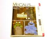 Sesame Street Muppets Pattern - McCall's 8395 Uncut